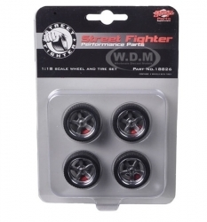 Street Fighter 5 Spoke Wheel & Tire Set, Reifensatz