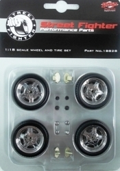 Street Fighter Mag, Wheel & Tire Set, Reifensatz