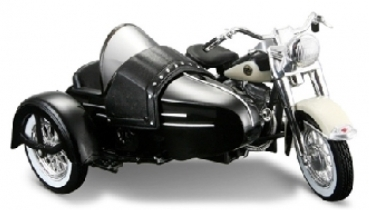 Harley Davidson with Sidecar FLH Duo Glide 1958