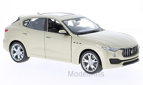 maserati levante metallic-beige 2017 - modellauto