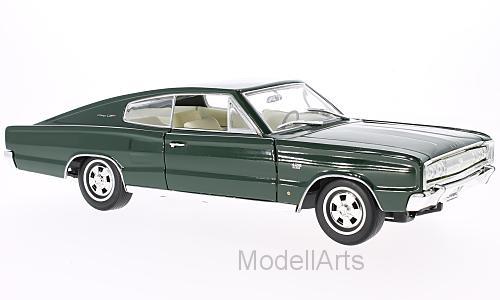 Modellauto 1:18 Dodge Charger 1966 dunkelgrün Lucky Die Cast