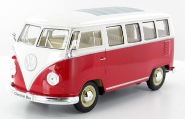 VW T1 Bus 1962, red/white