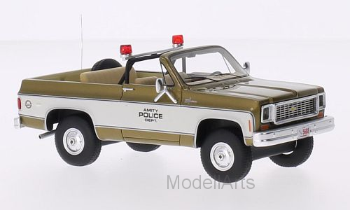 Chevrolet Blazer, gold/weiss, Amity Police Department