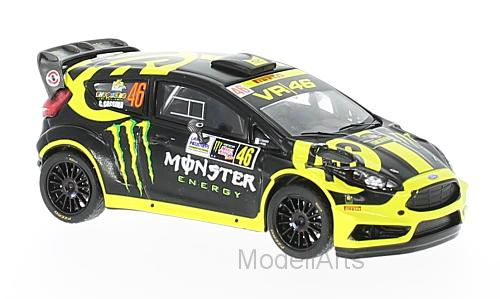 Ford Fiesta RS WRC, No.46, Monster, Rallye Monza, V.Rossi/C.Cassina, 2014
