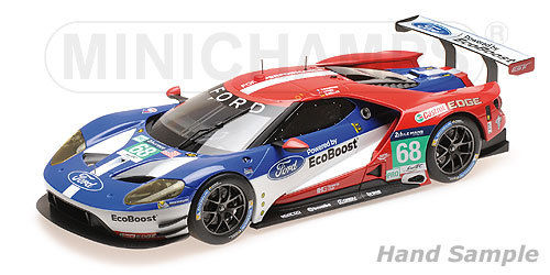 FORD GT - CHIP GANASSI RACING USA - HAND/MÜLLER/BOURDAIS - WINNERS LMGTE PRO 24H LE MANS 2016