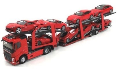 VOLVO FH4 500 TRUCK CAR TRANSPORTER (CARS NOT INCLUDED )