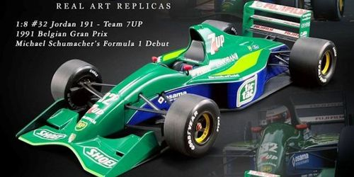 Jordan 191 - Team 7UP 1991 Belgian Gran Prix Michael Schumacher's Formula 1 Debut #32