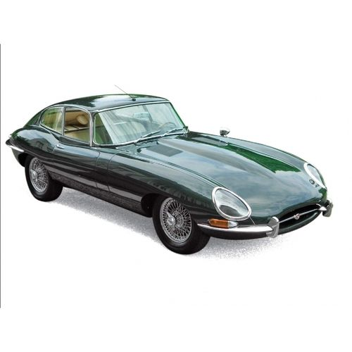 Jaguar E-Type Coupé 1962 - Green