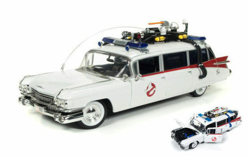 Cadillac Ghostbusters Ecto-1 With Ghost Slimer 1959 1:21