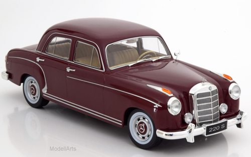 Mercedes 220S Limousine, rot