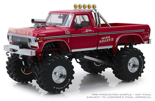 1979 Ford F-250 Monster Truck with 48-Inch Tires High Roller II *Kings of Crunch*