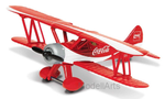 Stearman , rot/weiss, Coca Cola