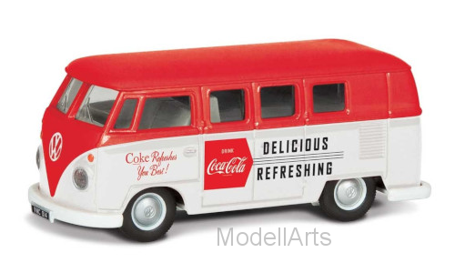 VW T1, rot/weiss, Coca Cola, 1960