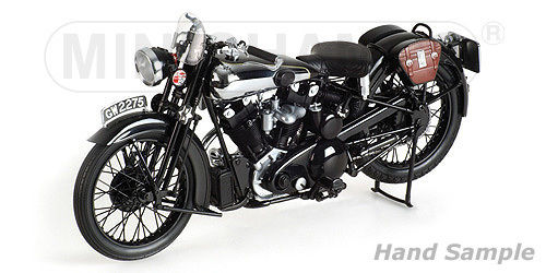 BROUGH SUPERIOR SS 100 ´T.E. LAWRENCE´ - 1932 - BLACK