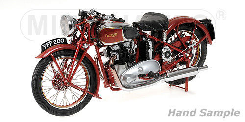 TRIUMPH SPEED TWIN - 1939 - RED