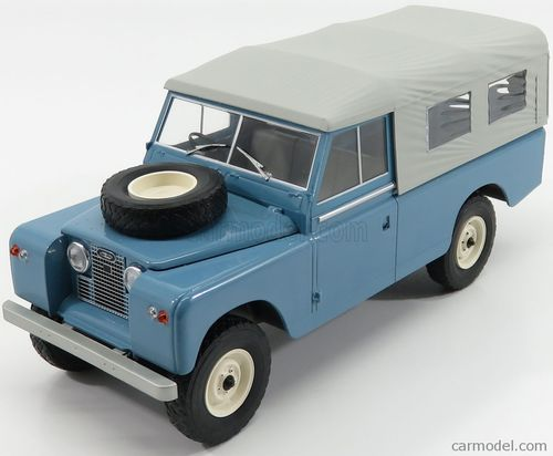 Land Rover 109 Series II, with Softtop, hellblau/grau, Pick up, 1959