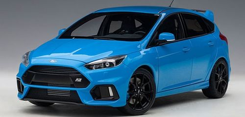FORD FOCUS RS 2016 (NITROUS BLUE) (COMPOSITE MODEL/FULL OPENINGS)