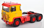 Scania LBT 141 1976  yellow/red
