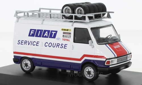 Fiat 242, Fiat France Service Course, with roof rack, 1979