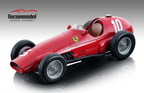 Ferrari 625 F1 1955 Argentina GP #10 Driven by: Giuseppe Farina - Limited Edtion 90 pcs.