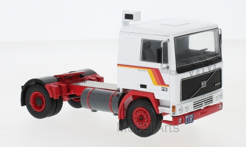 Volvo F10, weiss/rot, 1983
