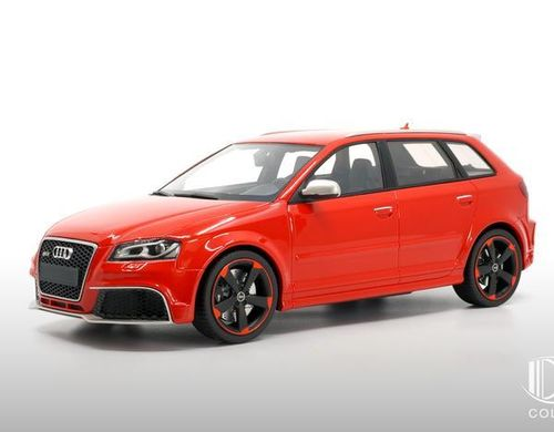 Audi RS3 2011 (black wheels) Misano red - Innenfarbe schwarz