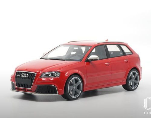 Audi RS3 2011 (grey wheels) Misano red - Innenfarbe schwarz