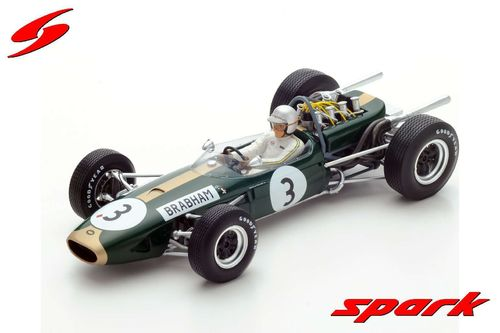 Brabham BT19 No.3 World Champion 1966 - Jack Brabham