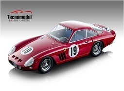 Ferrari 330 LMB Sebring 12h 1963 #19 SEFAC Driven by: M. Parkes - L. Bandini - Limited Edition 80 pc