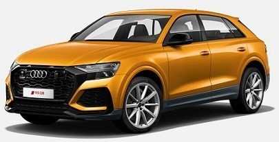 Audi RS Q8 2019 Dragon Orange