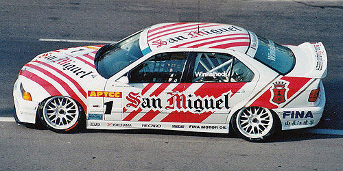 BMW 318IS CLASS II - BMW TEAM SCHNITZER - JOACHIM WINKELHOCK - WINNER MACAU GUIA RACE 1994