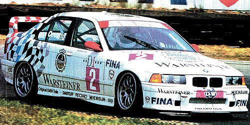 BMW 318IS CLASS II - BMW TEAM WARTHOFER - JOHNNY CECOTTO - CHAMPION ADAC STW CUP 1994
