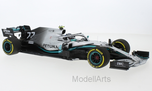 Mercedes AMG F1 W10 EQ Power+, No.77 Mercedes-AMG Petronas Motorport, Formel 1, Bottas 2019