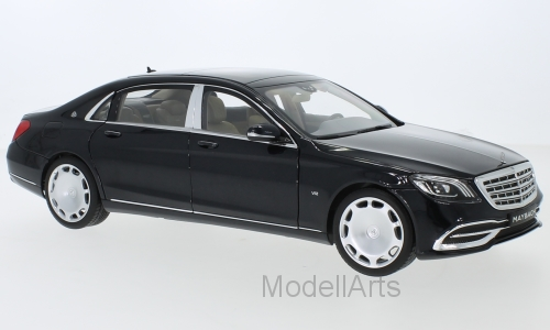 Mercedes Maybach S 650 (X222), metallic-schwarz