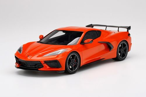 Chevrolet Corvette Stingray w/ High Wing Sebring Orange Tintcoat
