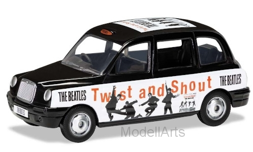 London Taxi, RHD, The Beatles, Twist and Shout