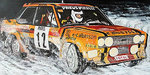 FIAT 131 ABARTH - FIAT FRANCE - MOUTON/ARRII - RALLY AUTOMOBILE DE MONTE CARLO 1980
