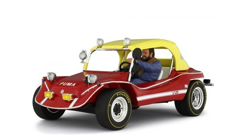 Puma Dune Buggy 1972 with Bud Spencer figure. limitiert