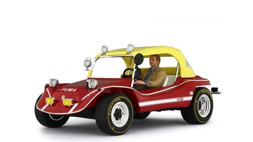 Puma Dune Buggy 1972 with Terence Hill figure. limitiert