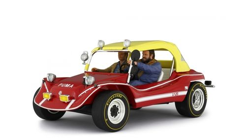 Puma Dune Buggy 1972 with Bud Spencer & Terence Hill figures, limitiert