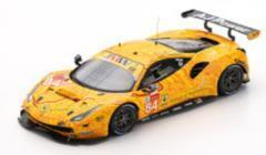 Ferrari 488 GTE No.84 2nd LMGTE Am class 24H Le Mans 2019 - JMW Motorsport -
