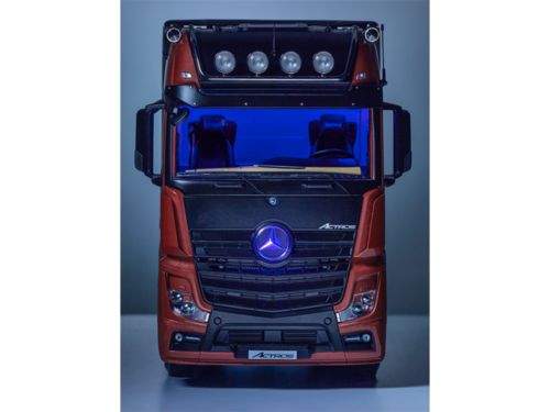 Mercedes Actros GigaSpace 4x2 FH25, metallic-dunkelrot