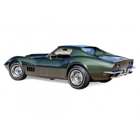 Chevrolet Corvette 1969 Green Metallic Modellauto