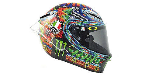 AGV HELMET - VALENTINO ROSSI - WINTER TEST SEPANG DAY 1