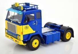 Volvo F88 ASG 1965  blue/yellow  Limited Edition 700 pcs
