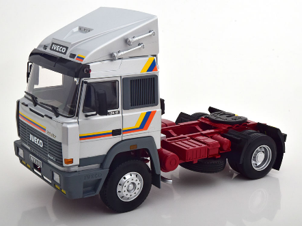 Iveco Turbo Star 1988 silber  Limited Edition 500 pcs.