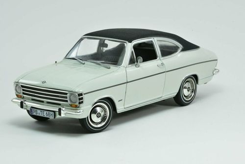 REVELL - OPEL OLYMPIA A COUPE 1969 white black