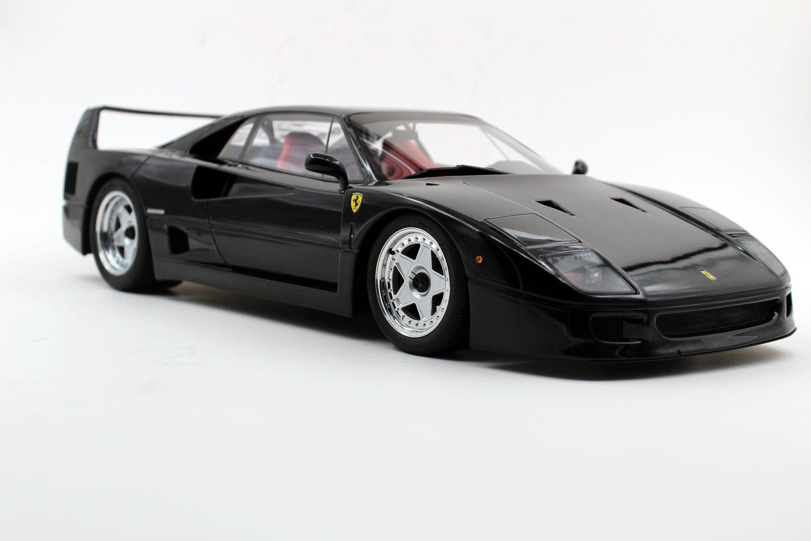 Ferrari F40 1987 Black Modellauto